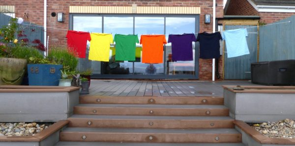 Retractable Washing Line - Extended