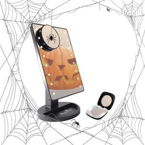 Light Up LED Mirror Set Halloween