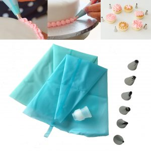 Silicone Piping Bag & Nozzles Sets Cake Decorating Set
